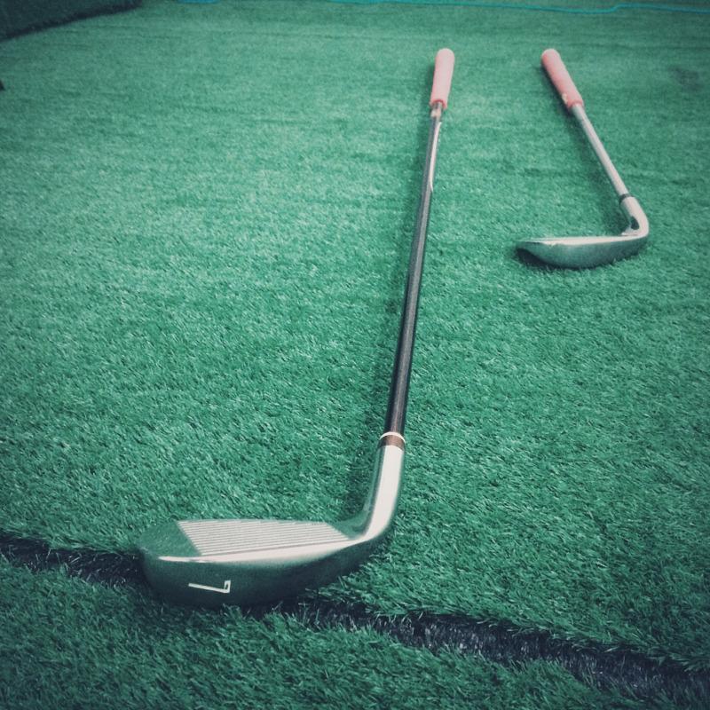 短めゴルフクラブ